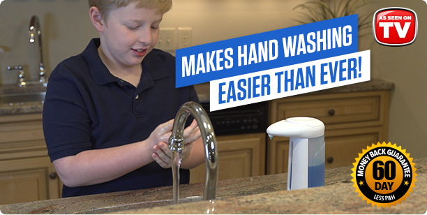 Sonic Soap Makes Hand Washing Easier Than Ever!